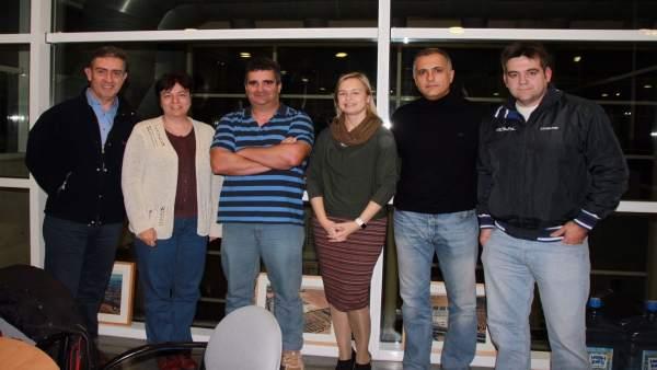 Reunión entre el IME y clubes de natación y waterpolo