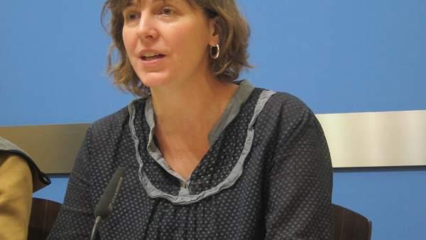 La concejal Teresa Artigas