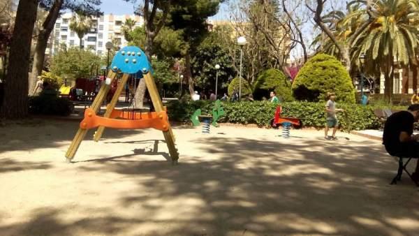 Es tanquen al públic tots els parcs i jardins de València que tenen reixes pel fort vent