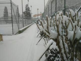 Nieve en Ontinyent (Valencia)