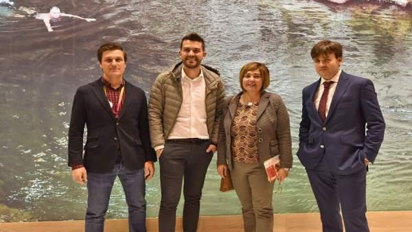 Presentación de Diputación de Cáceres en Fitur