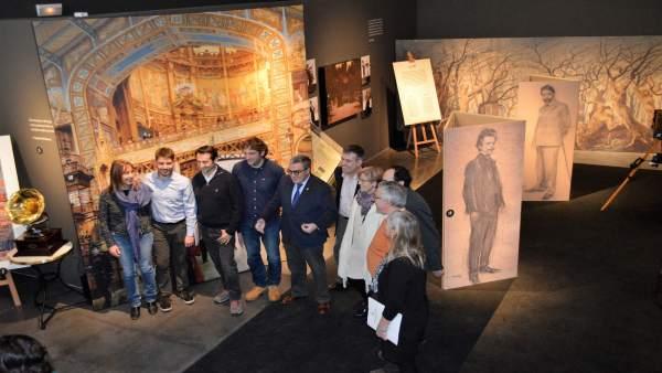 Presentación de la exposición 'Granados, de París a Goya'