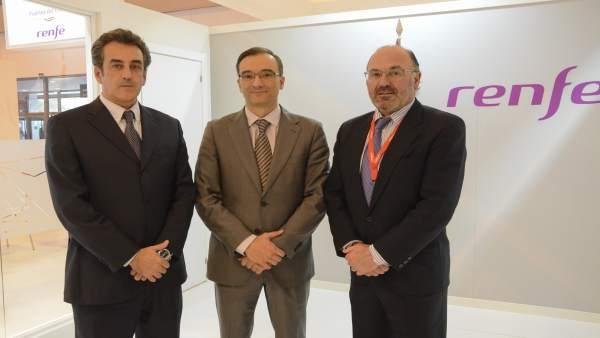 Francisco Martín ha firmado el convenio de colaboración con Renfe