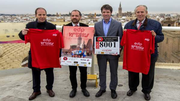 Presentación del EDP Medio Maratón de Sevilla.