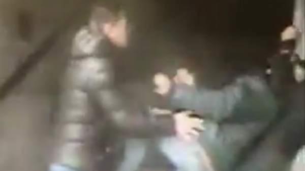 Roban utilizando el método del 'mataleón' en el Metro de Madrid