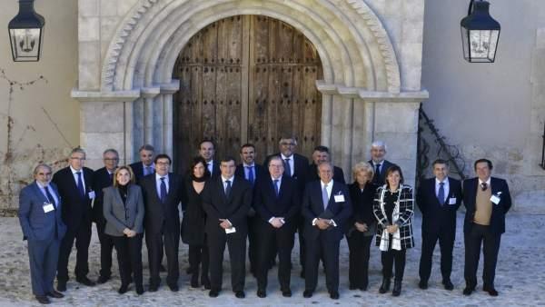 Reunión del consejo de la FIAB, a la que ha asistido Juan Vicente Herrera