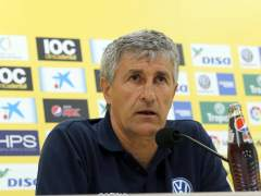"""El entrenador de Las Palmas: """"Araújo necesita ayuda"""""""
