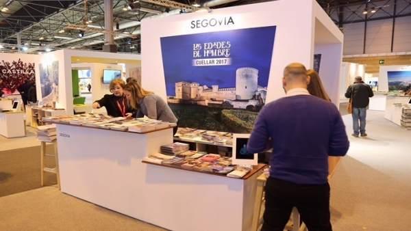 Expositor de Segovia en FITUR
