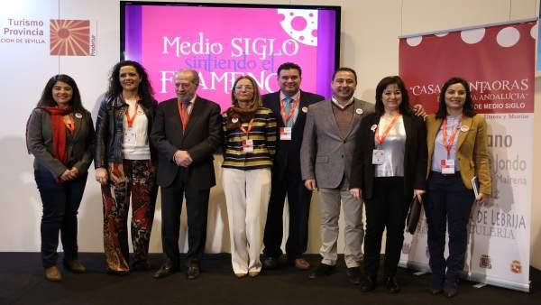 El flamenco de la provincia de Sevilla se promociona en Fitur