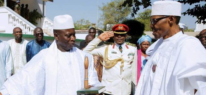 Yameeh, presidente de Gambia.