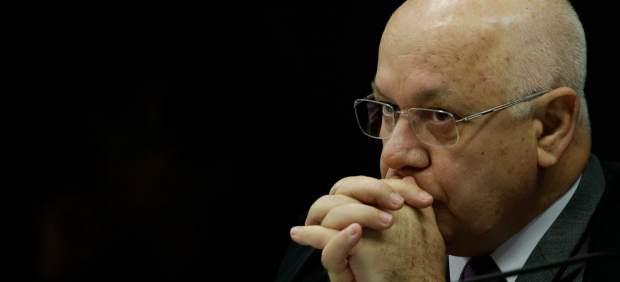 El juez brasileño Teori Zavascki