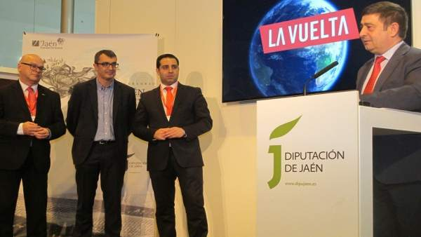 Reyes presenta las etapas de La Vuelta con presencia en Jaén