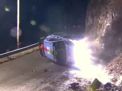 Accidente de Hayden Paddon en Montecarlo