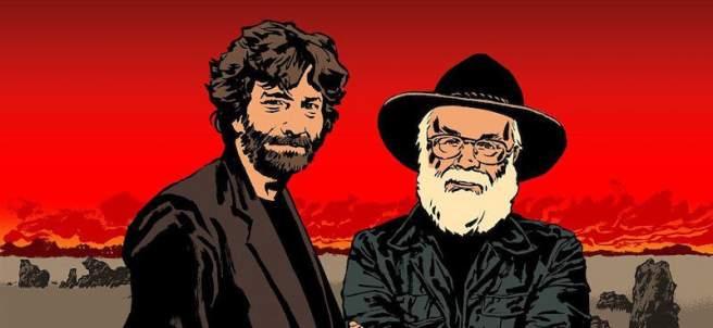 Neil Gaiman y Terry Pratchett