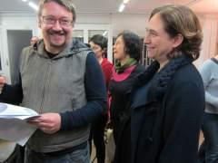 Discrepancias entre Podem y la formación de Colau antes de la fundación del nuevo partido