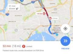 Así funcionarán los avisos de Google Maps para encontrar aparcamiento