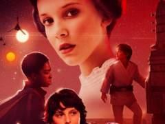 Los niños de 'Stranger Things' se transforman en personajes de 'Star Wars'