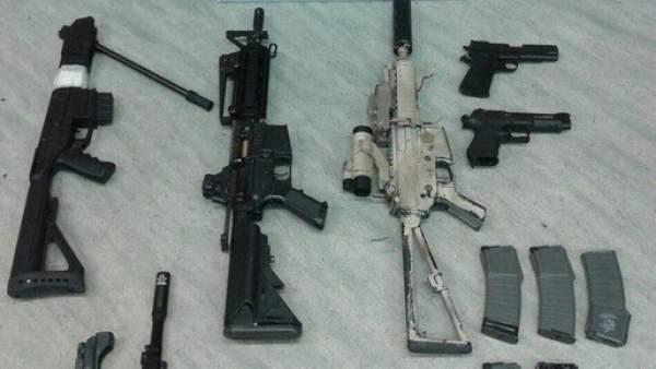 Arsenal de armas.