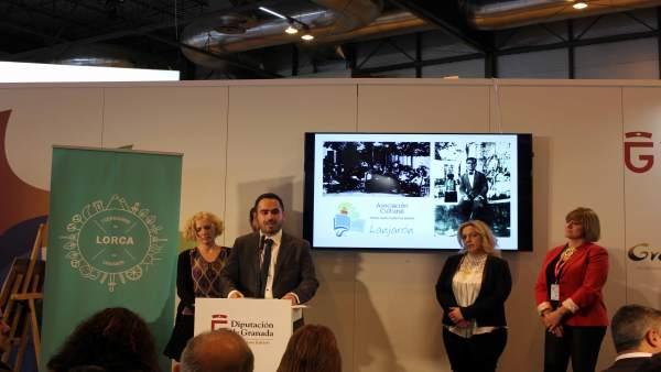 Presentación de iniciativa sobre el año lorquiano en Fitur