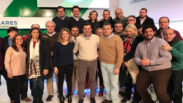 Sanz en la convención del PP regional de Granada