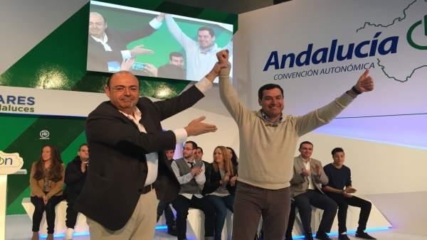 Clausura de la convención del PP-A en Granada