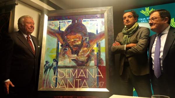 Presentación del cartel de la Semana Santa de Sevilla 2017
