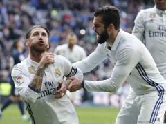 El Real Madrid, campeón de invierno tras ganar al Málaga