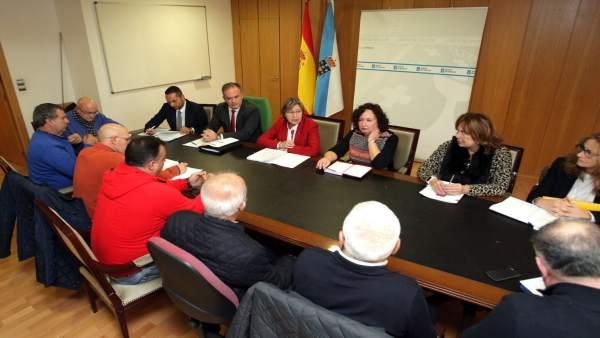 La Xunta crea un grupo de trabajo para reforzar la defensa intereses flota.