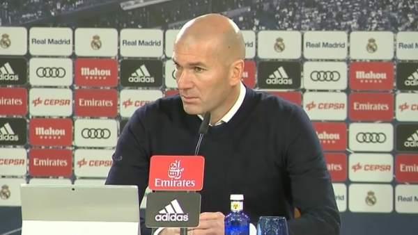 """Zidane: """"Mi estado de ánimo es un poco jodido"""""""