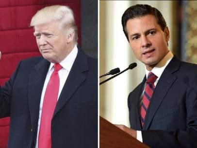 Trump y Peña