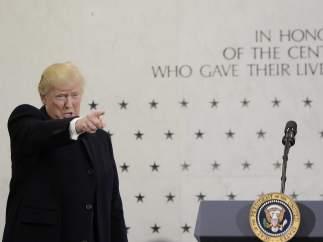 Trump, en la CIA