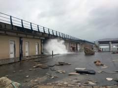 Los estragos del temporal en el Mediterráneo: cortes de tráfico y playas arrasadas