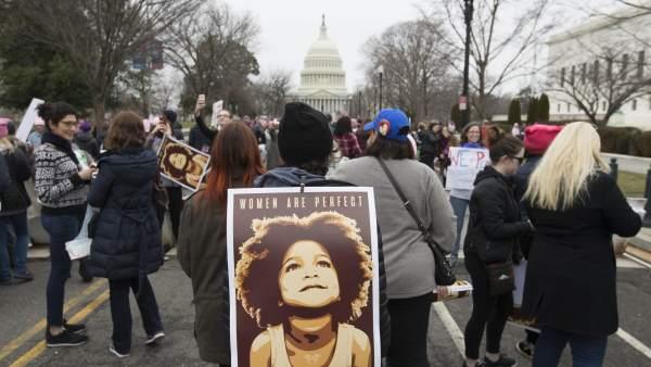 Marcha de las Mujeres en Washington
