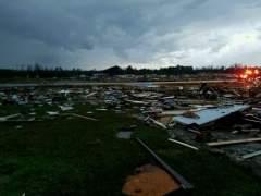 Al menos 15 muertos por una tormenta en Georgia y un tornado en Mississipi