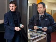 Hamon y Valls encabezan las primarias de la izquierda francesa