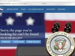 """La Casa Blanca aclara que la versión en español de su web está """"en construcción"""""""