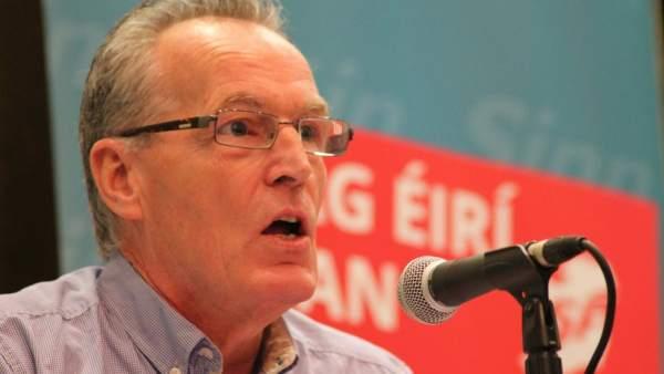 Gerry Adams, del Sinn Féin