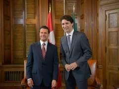 Peña y Trudeau apuestan por la integración de Norteamérica
