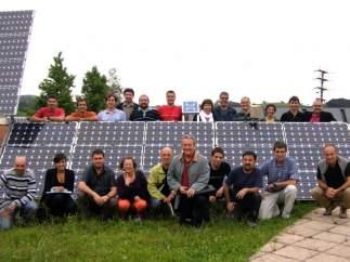 Socios de Goiener, cooperativa comercializadora de electricidad 100% renovable