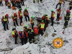 La búsqueda de desaparecidos en Italia continúa en condiciones extremas