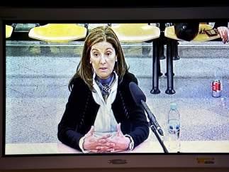 Momento de la declaración de Rosalía Iglesias