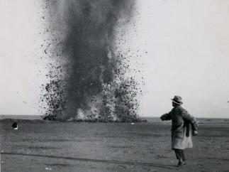Eli Lotar, Draining of the Zuiderzee, Netherlands, 1930