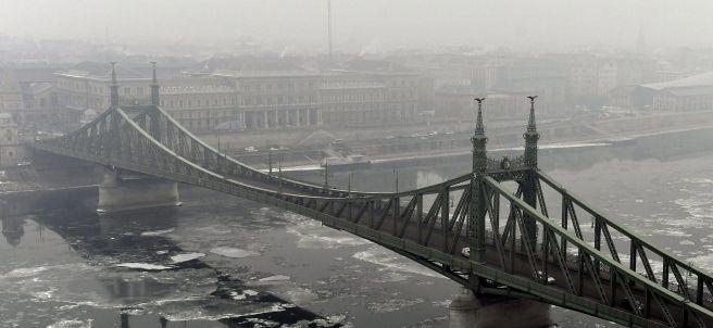 Contaminación sobre el Danubio