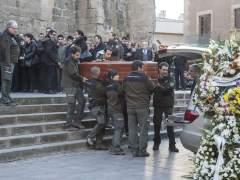 Cientos de personas despidieron a los dos agentes rurales asesinados
