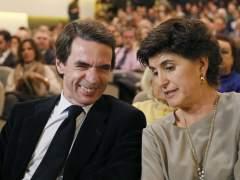 """Aznar lamenta la actual """"debilidad"""" de España"""