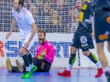 Pérez de Vargas celebra una parada ante Croacia en el Europeo de Polonia