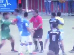 Botellazo a un árbitro en la Tercera División canaria