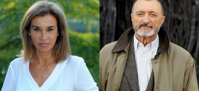 Carmen Posadas y Arturo Pérez-Reverte