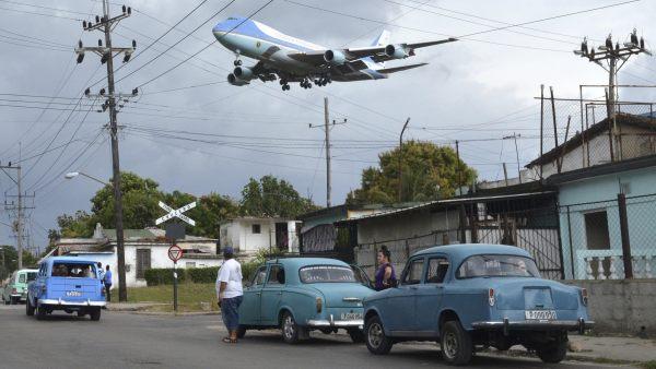 Llegada del Air Force One
