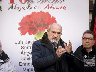 Homenaje a los abogados de Atocha asesinados hace 40 años